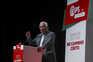 António Costa durante o comício de campanha no âmbito das eleições autárquicas, em Coimbra
