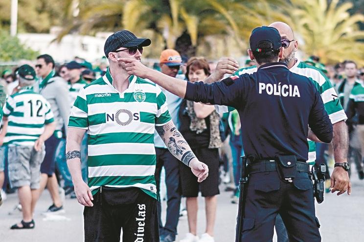 PSP vai estar preparada para evitar excessos durante os festejos dos adeptos do Sporting