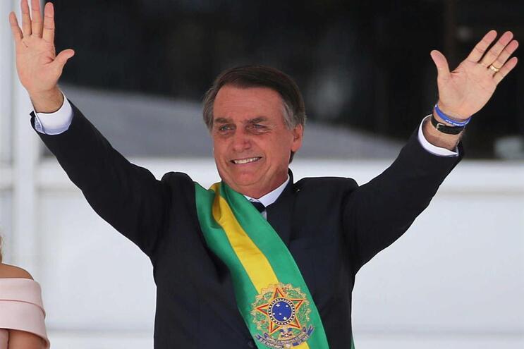 Jair Bolsonaro tomou posse como presidente do Brasil na terça-feira, primeiro dia de 2019