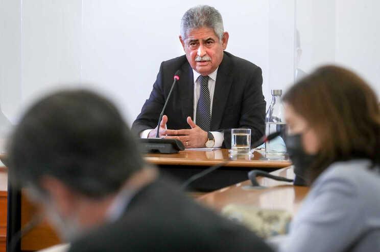 Luís Filipe Vieira, presidente do Spor Lisboa e Benfica