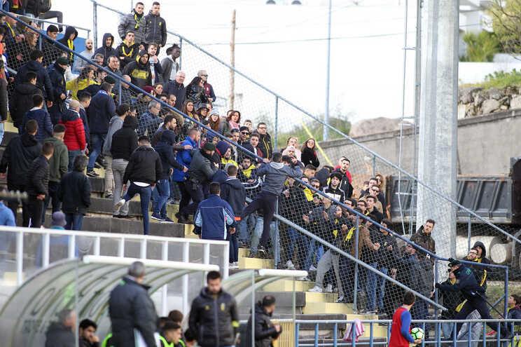 Jogo realizado em março de 2018 teve várias picardias entre adeptos do Vizela e do Fafe