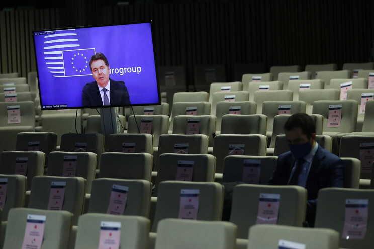 Paschal Donohoe, presidente do Eurogrupo