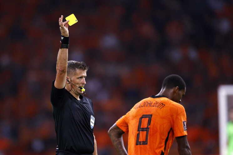Esta será a quarta vez que o árbitro italiano vai apitar um jogo do Benfica