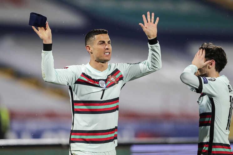 """A rábula de humor também chegou a Cristiano Ronaldo, que o humorista considerou ser """"um bom exemplo do"""