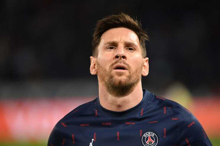 Lionel Messi participou em três jogos no PSG