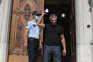 O juiz Rui Fonseca e Castro chegou à PGR para a entrega da denúncia já perto das 16 horas, à frente de