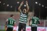 Coates dedicou os golos  em Barcelos a Santiago García