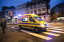 Desvio é pedido para doentes transportados em ambulâncias