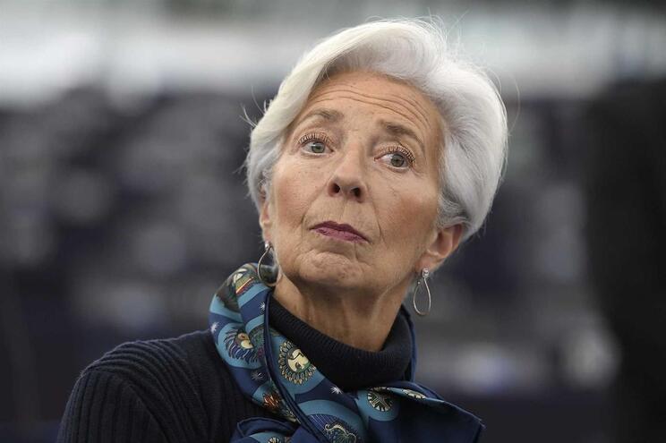A presidente do Banco Central Europeu Christine Lagarde