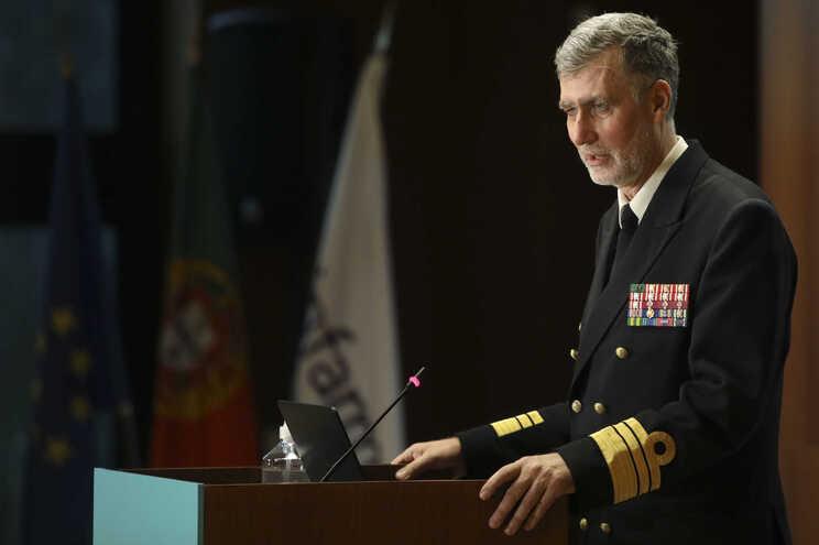 "O vice-almirante Gouveia e Melo é o novo coordenador da ""task force"" do plano de vacinação contra a covid-19"