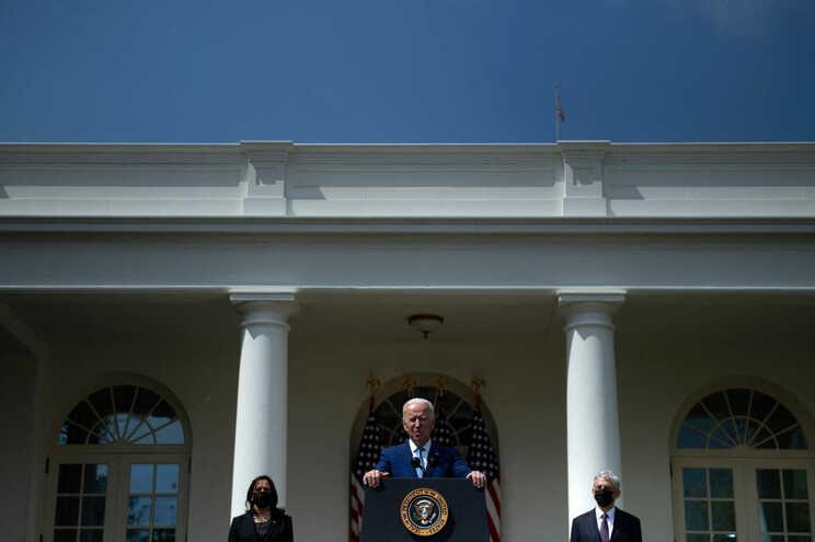 Joe Biden falou ao país na quinta-feira