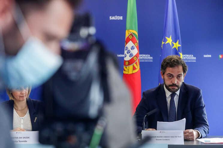 O coordenador da região de Lisboa e Vale do Tejo e Secretário de Estado Adjunto e dos Assuntos Parlamentares