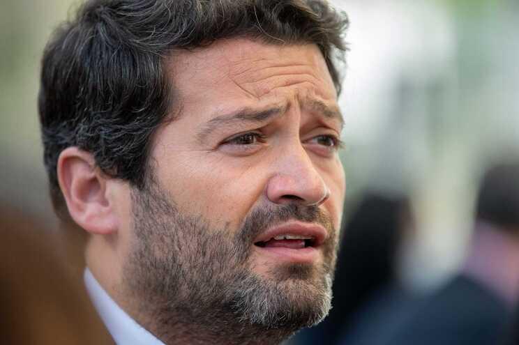O presidente do Chega, André Ventura, proferiu declarações quando era vereador na Câmara de Loures
