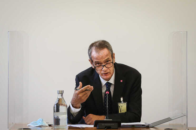 O presidente da Comissão Executiva do Millennium BCP, Miguel Maya