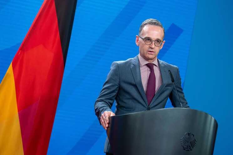 O ministro dos Negócios Estrangeiros alemão, Heiko Maas