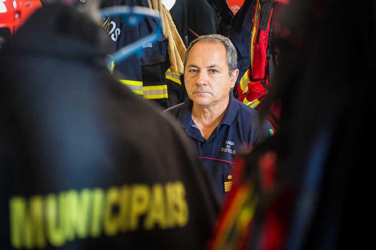 Comandante dos Bombeiros Sapadores de Viana do Castelo, António José Cruz