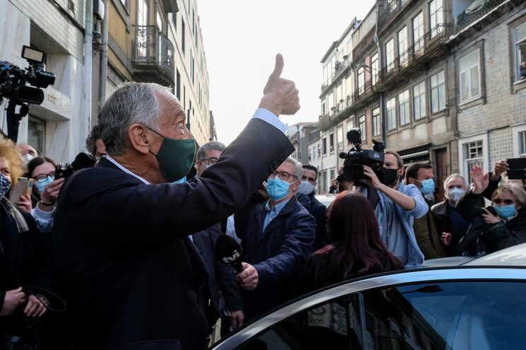 Marcelo Rebelo de Sousa no Porto