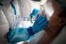 Ala de internamento covid-19 no Hospital Padre Américo, em Penafiel