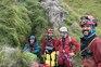 Portugueses saíram da gruta pelo próprio pé
