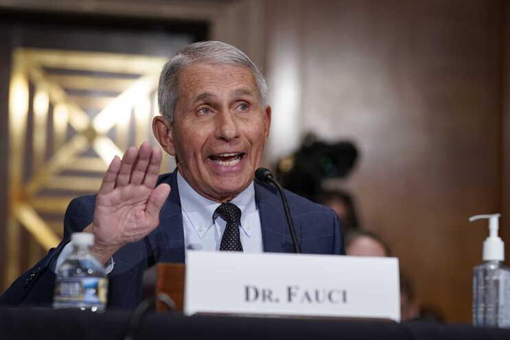 O principal conselheiro médico do Presidente Joe Biden para a pandemia, Anthony Fauci,