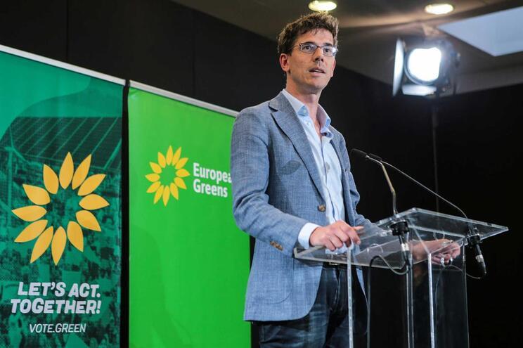 O eurodeputado ecologista holandês Bas Eickhout