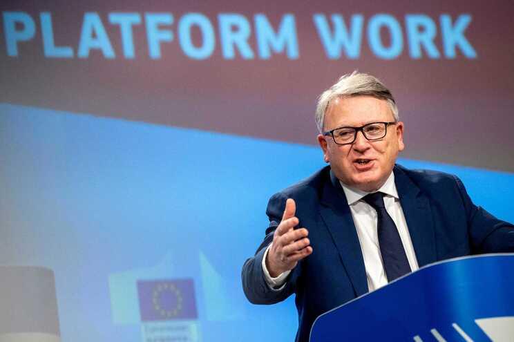 Nicolas Schmit, comissário europeu do Emprego e Direitos Sociais