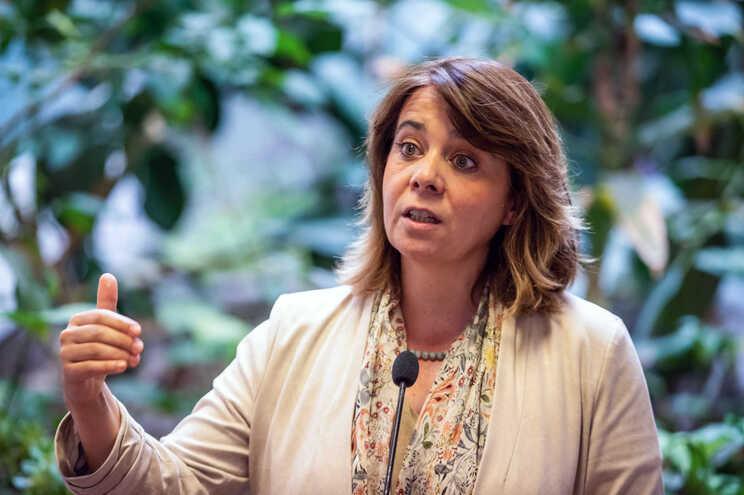 A coordenadora do Bloco de Esquerda (BE), Catarina Martins