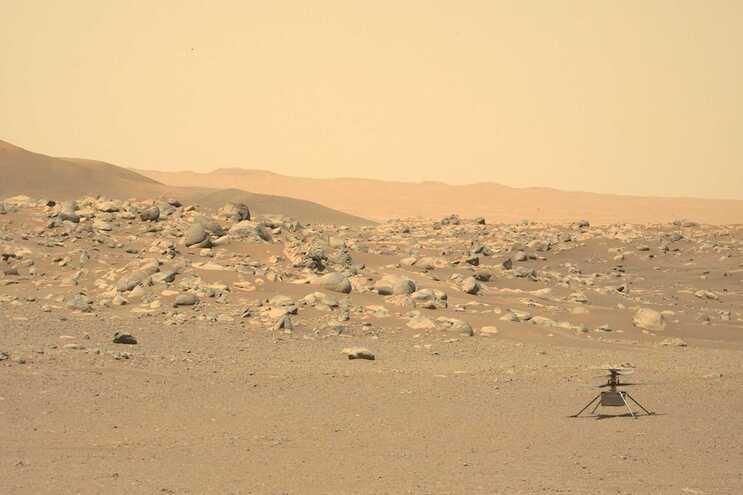 Sonda revela altas concentrações de oxigénio na atmosfera de Marte