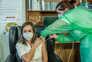 A enfermeira Marina Tavares, de 35 anos, que trabalha há 12 anos na Santa Casa da Misericórdia de Vila