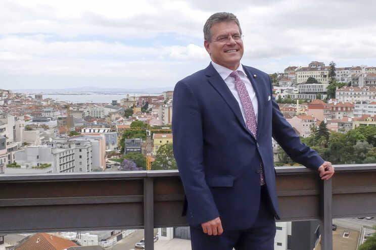Maros Sefcovic, vice-presidente da Comissão Europeia