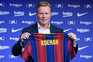 Ronald Koeman, treinador do Barcelona