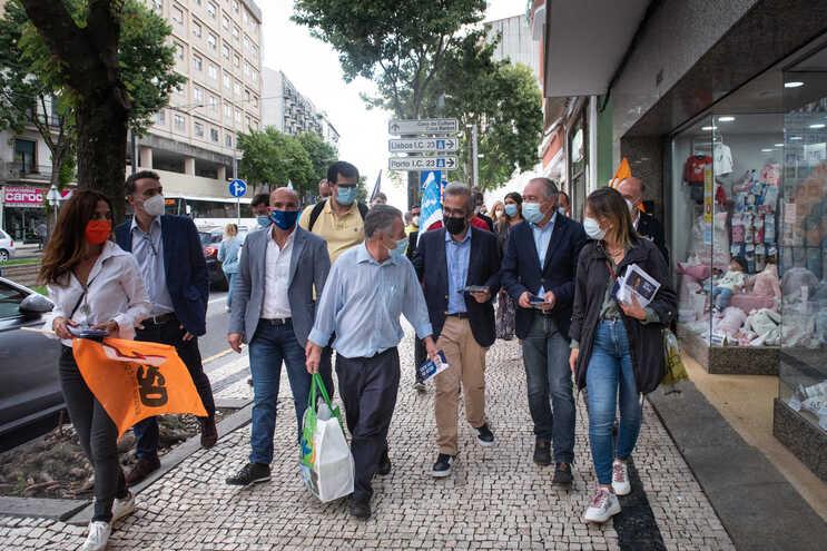 Cancela Moura, com a presença do mandatário Paulo Rangel