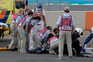 Dean Berta Viñales (Viñales Racing Team) foi assistido na pista nas não resistiu aos ferimentos