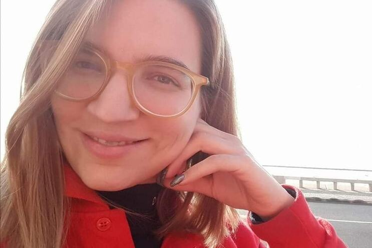 A bombeira Catarina Pedro, de 31 anos