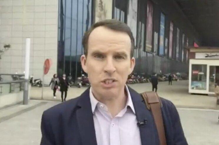 O jornalista da BBC John Sudworth