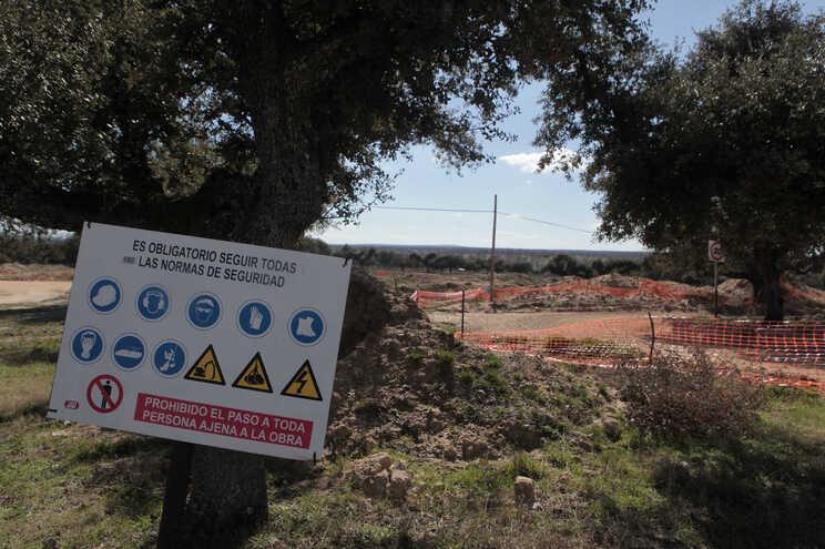 A empresa Berkeley Minera Espana efetuou testes de viabilidade para a implementação de uma mina de urânio