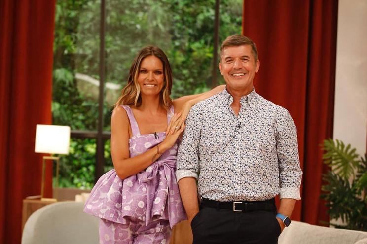 João Baião e Diana Chaves apresentaram novo programa