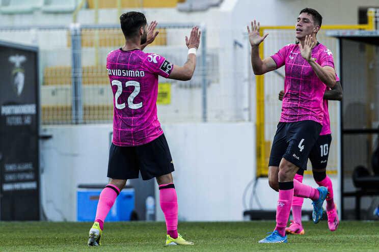 O Moreirense venceu esta segunda-feira