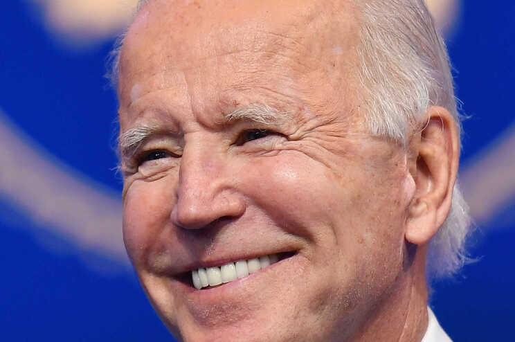 O presidente eleito dos Estados Unidos, Joe Biden