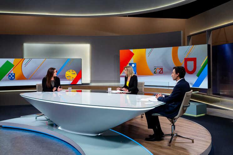 Debate entre Marisa Matias e Tiago Mayan Gonçalves