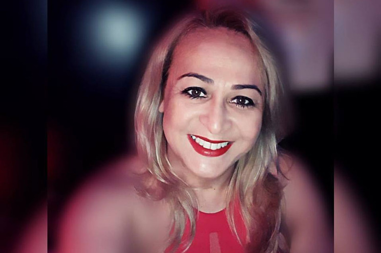 A vítima, Heila Lopes