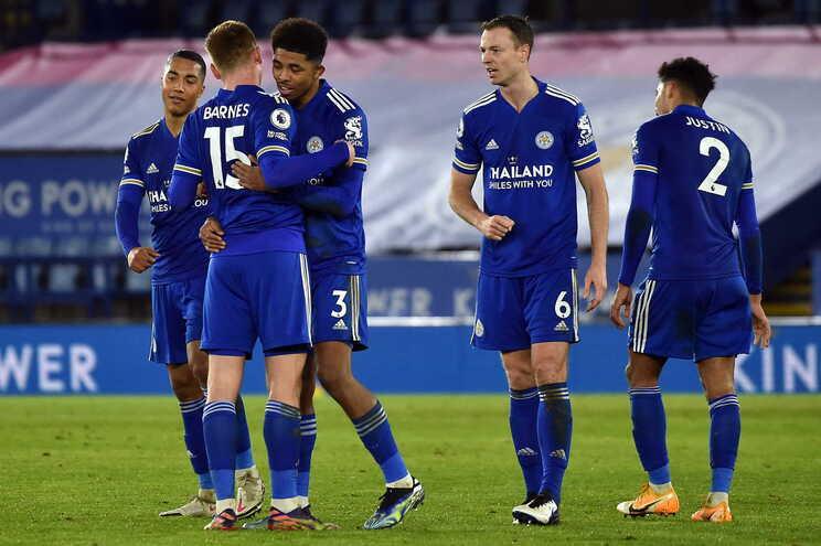 O Leicester venceu o Chelsea esta terça-feira