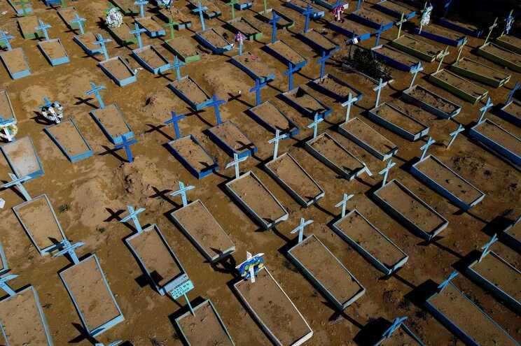 Cemitério em Manaus, Brasil