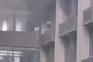 Incêndio em laboratório foi seguido de uma explosão