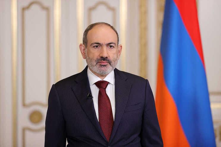 Nikol Pashinyan, primeiro-ministro da Arménia