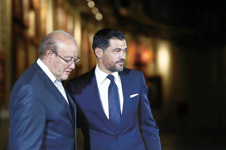 Pinto da Costa e Sérgio Conceição chegaram a acordo