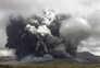 As imagens da entrada em erupção do vulcão Aso no Japão
