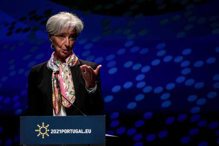 Christine Lagarde, presidente do Banco Central Europeu