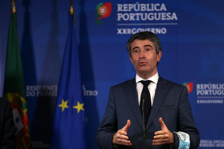 O secretário-geral Adjunto do Partido Socialista (PS), José Luís Carneiro