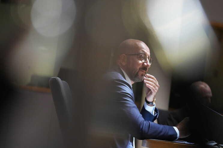 O primeiro-ministro belga, Charles Michel, terá sido um dos alvos